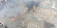 كارثة بيئية وصحية تهدد منطقة العطاطرة جراء قصف مصنع كيماويات