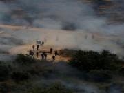 إصابات بالاختناق خلال مواجهات مع الاحتلال شمال القدس